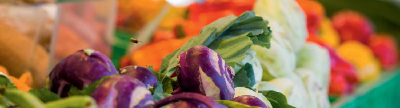 Der Gemüsestand, der zu Ihnen nach Hause kommt